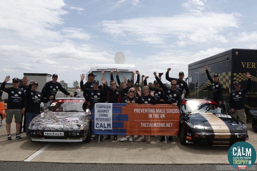 BRSCC Porsches Merge with CALM Porsche Trophy