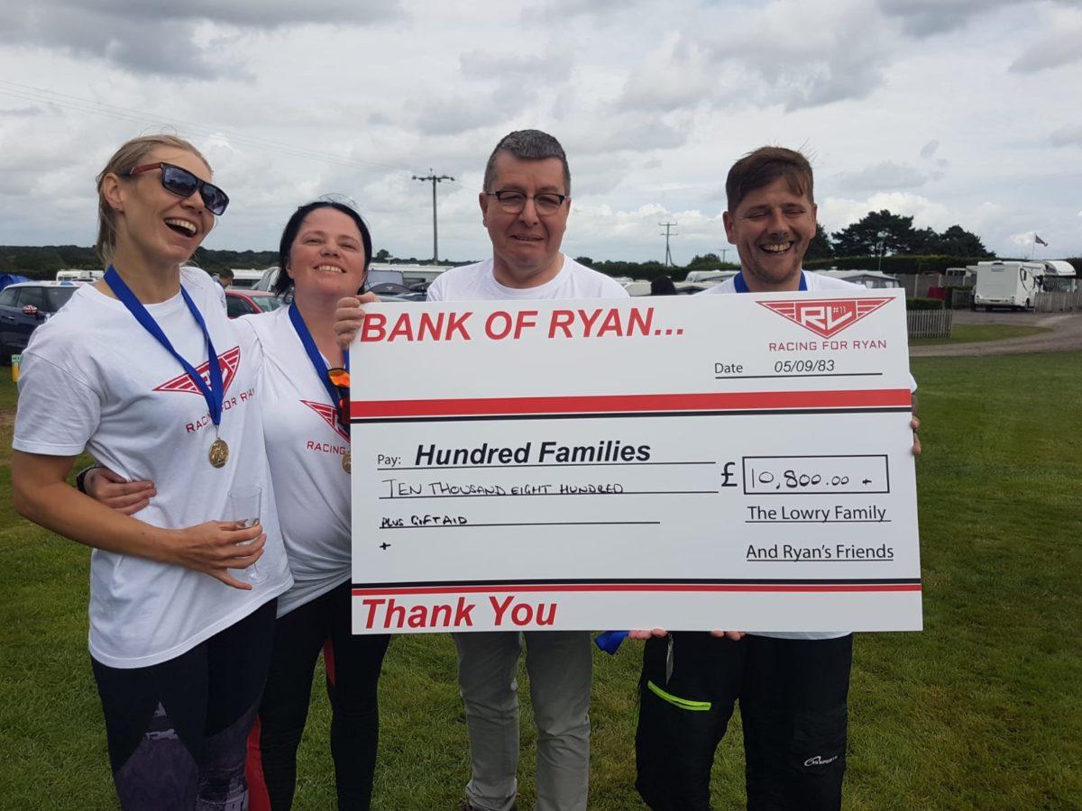 Over £10k raised